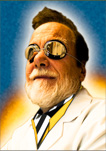 Dr. James F. Hainfeld, Chief Mad Scientist of Nanoprobes, Inc.